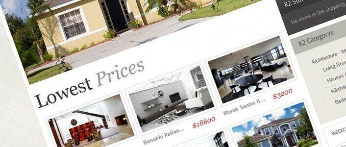 Black & White - eCommerce Joomla! Template