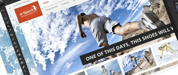 eSport - eCommerce Joomla! Template