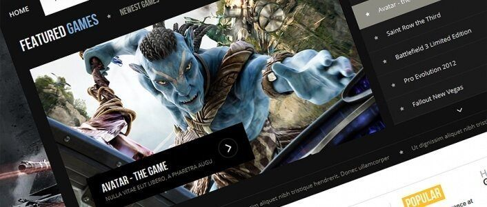 Game Magazine - Gaming Joomla! Template