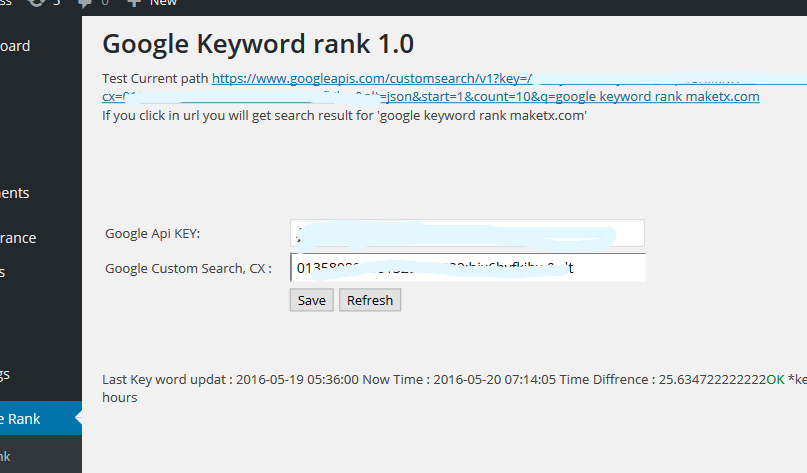 WP google keyword rank search3
